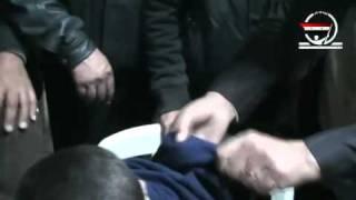 تعذيب الامن السوري للأطفال المعتقلين في دوما
