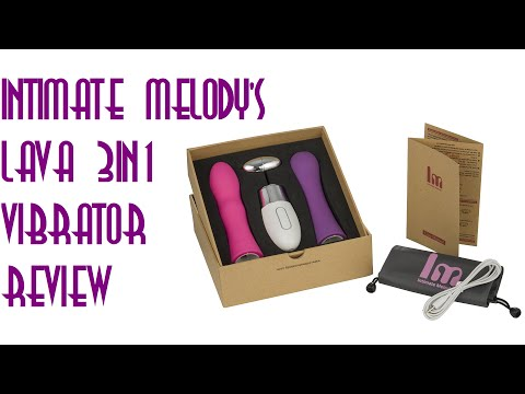 INTIMATE MELODY'S 'LAVA 3 IN 1' VIBRATOR REVIEW