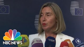 Europe And Iran In Talks To Save Nuclear Deal | NBC News