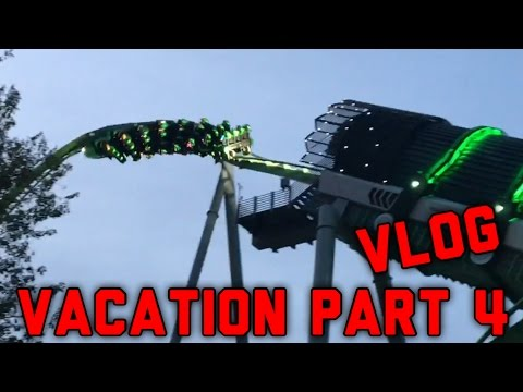 The BEST Vacation Ever Part 4 The Roller Coaster