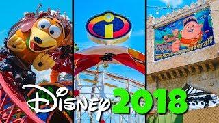 Top 10 New Disney Rides & Attractions Added in 2018 - Disney World & Disneyland