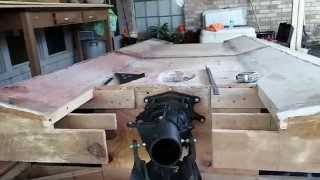 Homemade Plywood Jet Boat Pt.8(steering And Reverse)