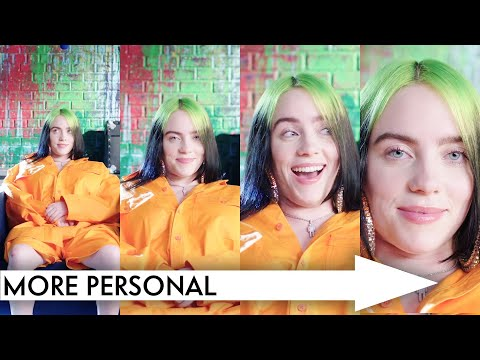 Billie Eilish Answers Increasingly Personal Questions Slow Zoom Vanity Fair