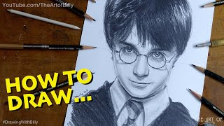 How to Draw Harry Potter in Year 1 at Hogwarts