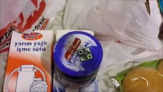 تعالوا نتسوق معا من ارخص واشهر سوبر ماركت في تركيا cheapest and most popular supermarket in turkey