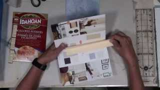 DIY Mixed Media Journal with Paint Swatch Books - Part 2