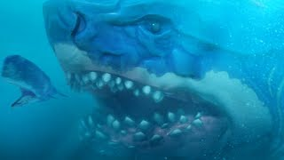 GIANT MEGALODON LEVEL 500 MOD - Feed and Grow Fish - Part 101 | Pungence