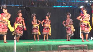 Mora mana udi jaye re dance performed by the Students of Sambalpur University at B. P. Audiotorium