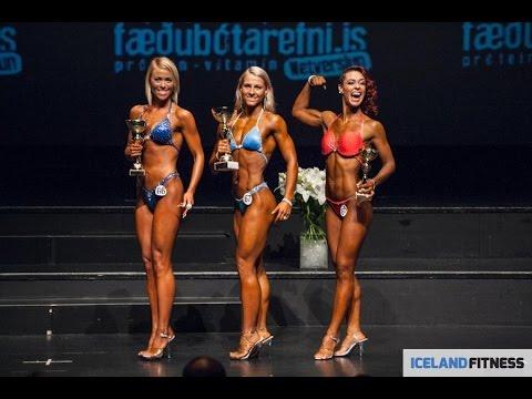 2014 IFBB Icelandic Cup. Bodyfitness 163cm class