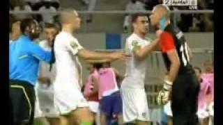 تحكيم مباراه مصر الجزائر 4 - 0