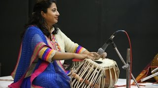 Indian Girl Playing Tabla, Amazing performance- Tabla solo recital-kerala classical- best music