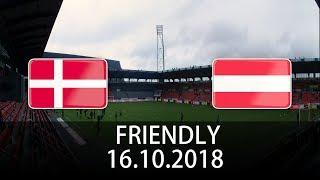 Denmark vs Austria - International Friendly - PES 2019