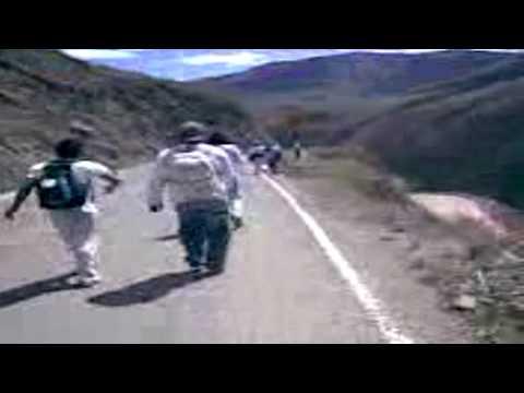 Peregrinacion Otuzco 2009 Desvio a Otuzco xD