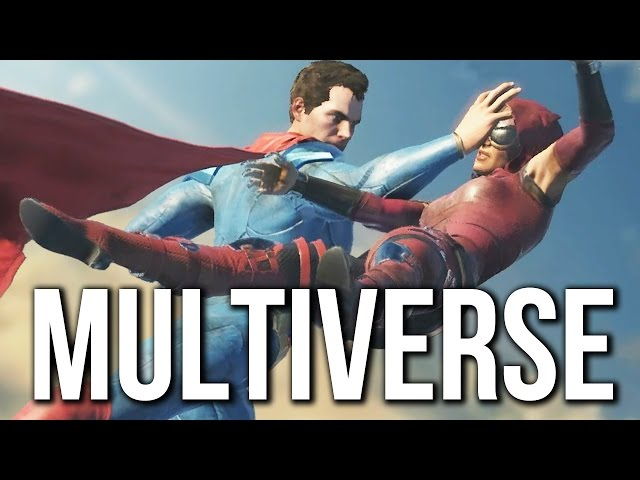 Injustice 2 - Multiverse Gameplay Walkthrough (no commentary)