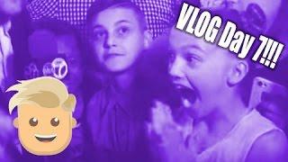 VLOG Day 7!!!  Justin Bieber dances with Jayden in Washington DC