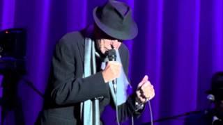 Leonard Cohen, I'm your Man , Dublin 12-09-2012