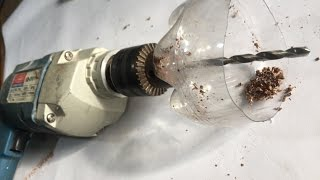 6  LIFE HACK drill machine,tape,coca cola bottle,, coil, magnet,