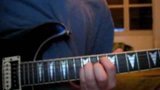 My Sacrifice-Creed TUTORIAL TABS Original version Tuning: DADADD