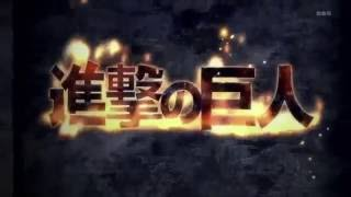 Attack on Titan Opening with Over The Testament (Testament Sister New Devil Burst Theme)