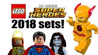 LEGO DC Super Heroes 2018 sets list!