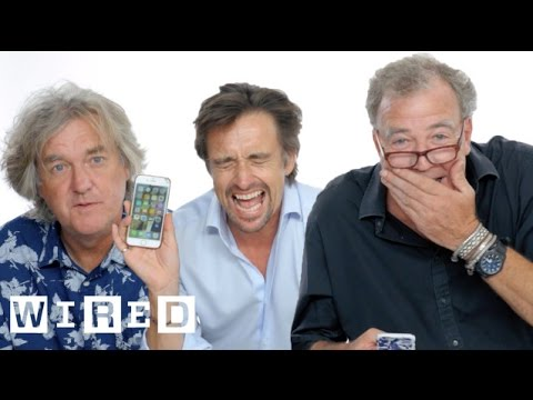 Jeremy Clarkson Richard Hammond & James May Show Us the Last Thing on Their Phones WIRED