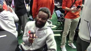 TigerNet.com - Shadell Bell interviews Trevion Thompson