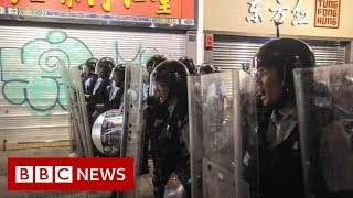 Hong Kong extradition protests: Police and protesters clash - BBC News