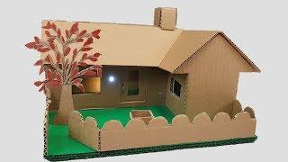 Building+cardboard+House+-Garden+Villa+-+Dream-house