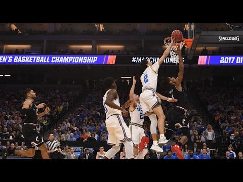 Second Round UCLA rolls past Cincinnati