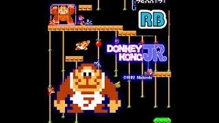 1982 [60fps] Donkey Kong Jr. 207200pts