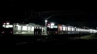 日光線205系600番台の救援列車