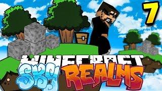 Minecraft: SKYREALMS CHALLENGE | VANILLA AUTO COBBLE GEN!! [7]