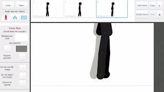 Dancing stick figure gif