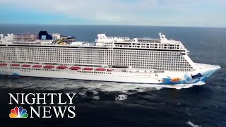 Cruise Ship Passenger Survives 10 Hours At Sea After Falling Overboard | NBC Nightly News