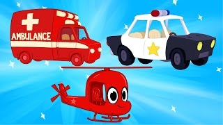 Ambulance And Police Get Help from Morphle - Kids and Baby Videos