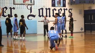 Sr.Boys Basketball 2014 Cardinal Leger Vs Central Peel