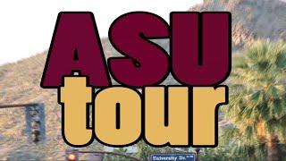 ASU Tempe Campus and Dorm Tour