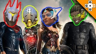 Overwatch Funny & Epic Moments 126 - JUSTICE LEAGUE ASSEMBLE! - Highlights Montage