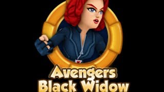 Avengers Black Widow (Black Widow) - Character Review, Super Hero Squad