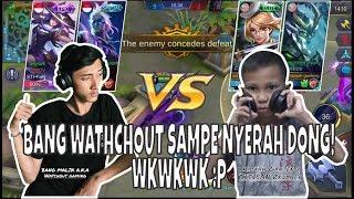 2x MAIN NGALAIN HERO FAVORIT BANG WATCHOUT GAMING, SAMPE NYERAH! WKWK - MOBILE LEGENDS INDONESIA