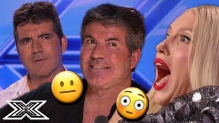 Top AWKWARD Moments From X Factor Auditions | X Factor Global