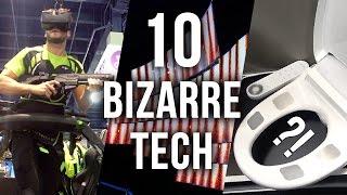 Top 10 Bizarre Tech at CES 2016