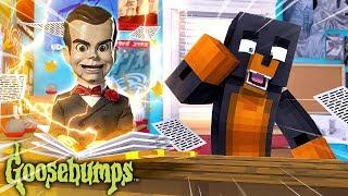 Minecraft GOOSEBUMPS - DONUT OPENS THE GOOSEBUMPS BOOK & SUMMONS SLAPPY THE DUMMY