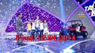 Jovens Talentos Kids final - 12 04 14  Raul Gil
