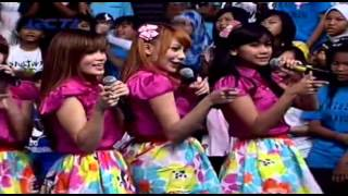 Cherrybelle - brand new day di dahsyat 4-1-2013
