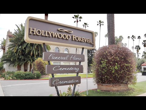 Hollywood Forever Cemetery Famous Celebrity Grave Tour Movie Star History & MUCH MORE