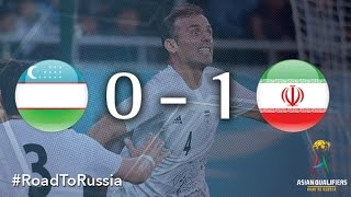 Uzbekistan vs Iran (Asian Qualifiers - Road to Russia)