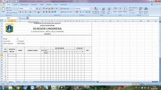 Cara Membuat Daftar Hadir atau Absensi di Microsoft Excel