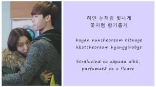 Park Shin Hye (박신혜) - Love is Like Snow (사랑은 눈처럼) - (Hangul - Romanization - Romanian)