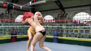 Women Wrestling at Bodog Babes